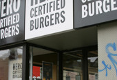 Hero Burger Exterior