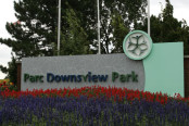 Downsview park sign
