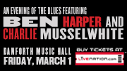 An Evening of the Blues featuring Ben Harper and Charlie Musselwhite Contest