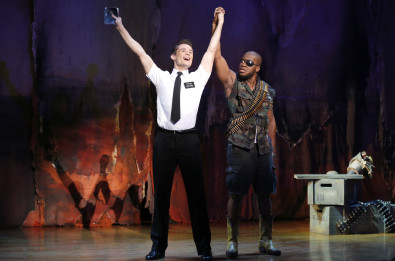 Mark Evans, Derrick Williams  THE BOOK OF MORMON First National Tour (c) Joan Marcus, 2013
