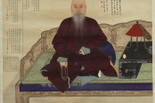 Portrait of the elderly Master Jing. By an anonymous painter.