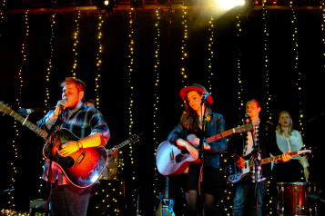 Of Monsters And Men. Photo by Kenny Sun.
