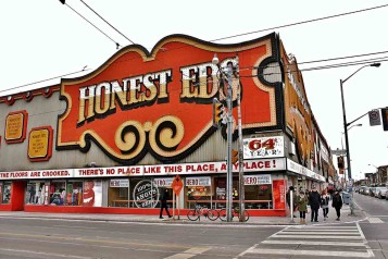 Honest Ed's. Photo credit: Alex Pietrowski