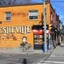 Leslieville mural.