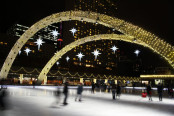 Holiday Lights in Nathan Phillips Square