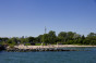 Centre Island beach and CN tower