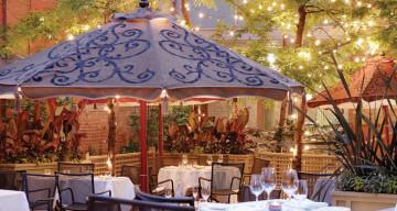 Patio at George Restaurant