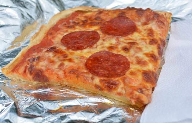 $2 Pizza slice from San Francesco