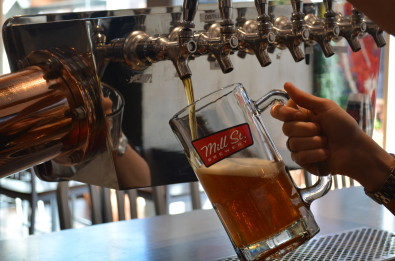 Mill Street's Oktoberfest Beer. Photo by Jenn Reid.