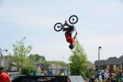 Strawberry Festival Bike Trick