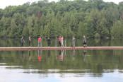 Zombie Survival Camp at Beaver Lake