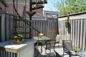 Rustic Cosmo patio