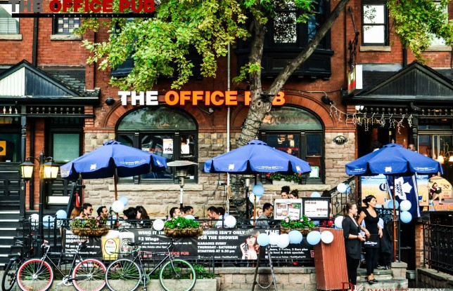 The Office Pub Toronto Patio