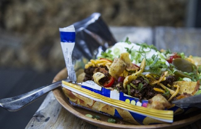 The Frito Pie from Big Crow. Photo by Nelson Tam.