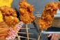 Frosted Flake Battered Chicken on a Stick. Photo by Jennifer D'Agostino