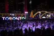Holiday Lights: Nathan Phillips Square