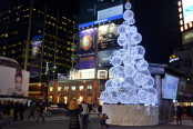 Holiday Lights: Yonge & Dundas