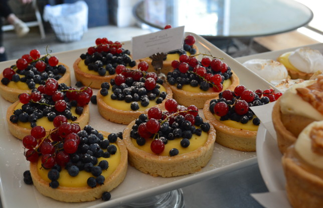 Tarts from BakerBots. Photo by Jennifer D'Agostino