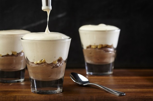 ... mousse date night recipes dishmaps chocolate caramel mousse date night