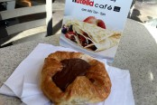nutella cafe trending
