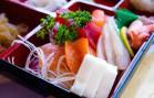 Niji - Sashimi Bento Closeup