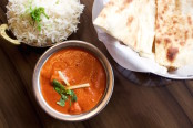 Butter chicken from Bindia. Photo by Jennifer D'Agostino