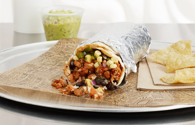 Sofritas Burrito at Chipotle