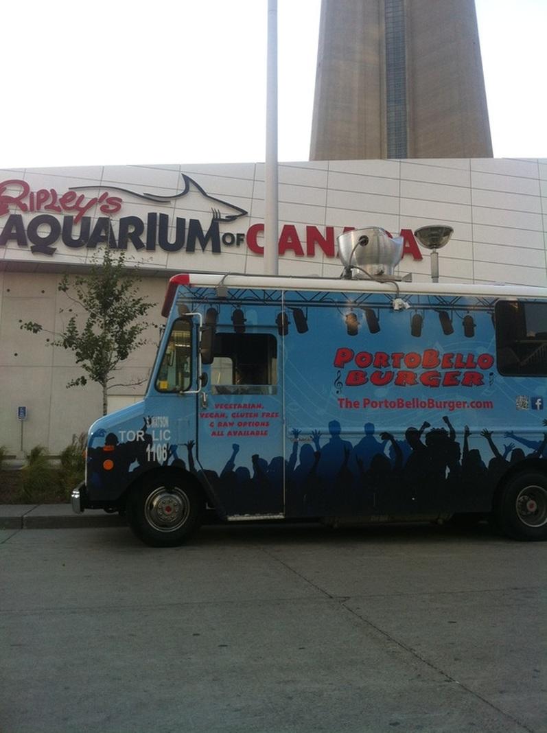 Photo courtesy of Portobello Burger Food Truck